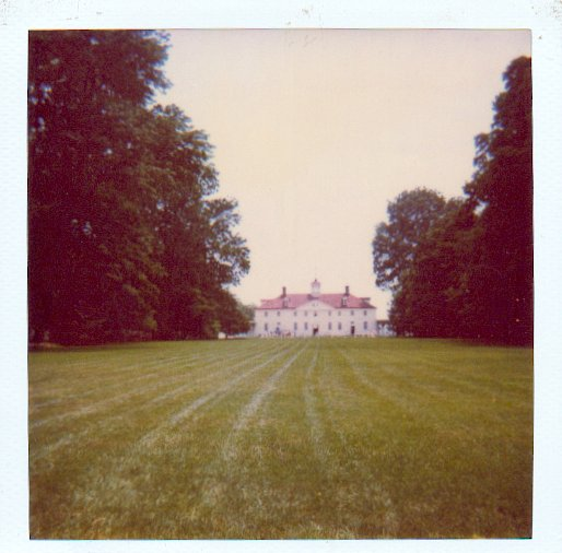 Mount Vernon, photo by M. E. Bond, do not copy